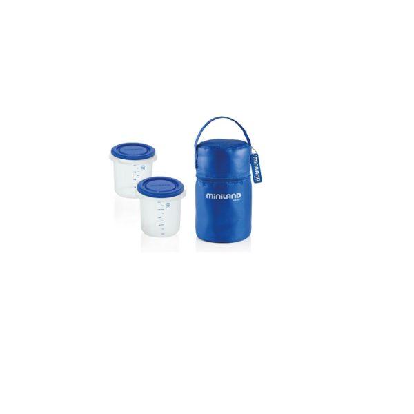 miniland pack 2 go hermisized blue