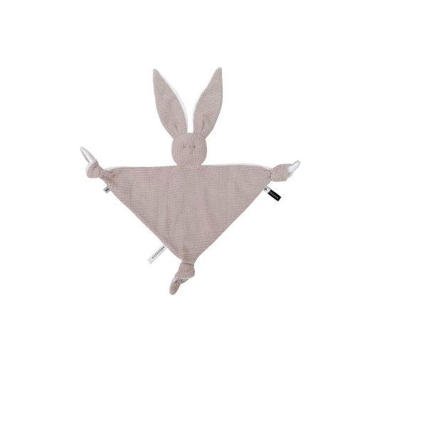 doudou coniglietto bamboom rosa