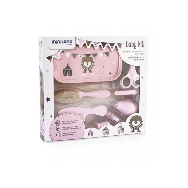 miniland baby kit rosa